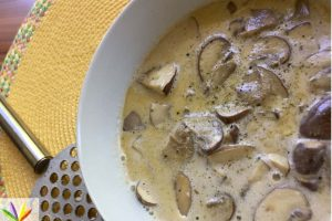 eat4happiness mushroom soup