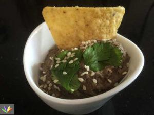black bean dip eat4happiness