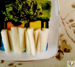 avocado blue cheese daikon
