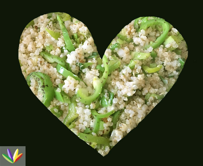 quinoa heart
