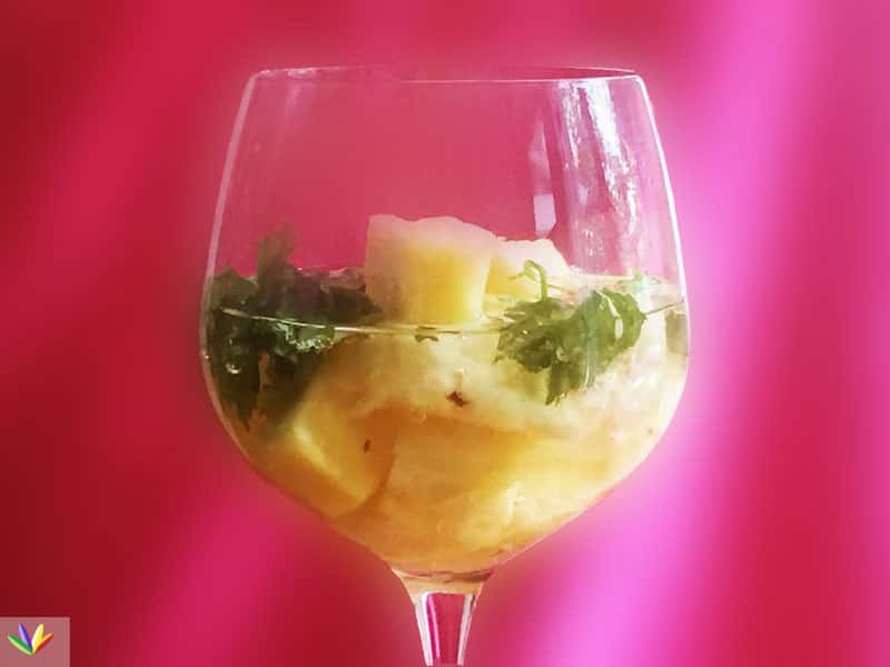 prosecco pineapple eat4happiness