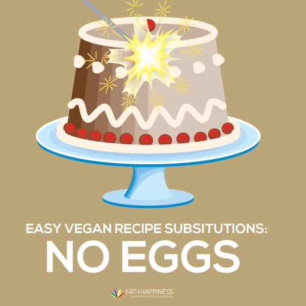 Vegan banking recipe substitions